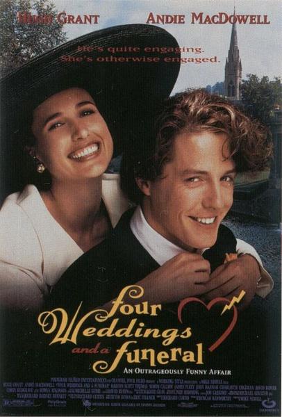 四個婚禮和一個葬禮/你是我今生的新娘(喜劇片)