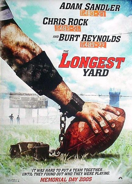 最長的一碼/鐵男總動員/監獄風雲/鐵男橄欖球