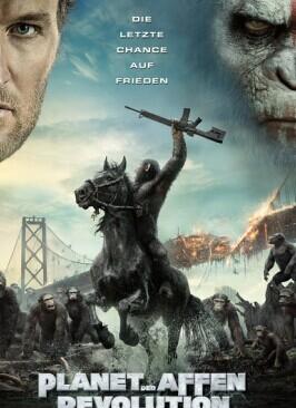 猩球崛起2:黎明之戰/猿人爭霸戰:猩凶崛起(科幻片)