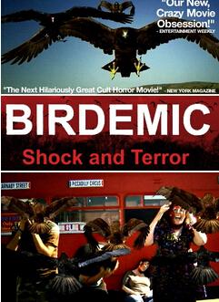 群鳥:震驚和恐怖