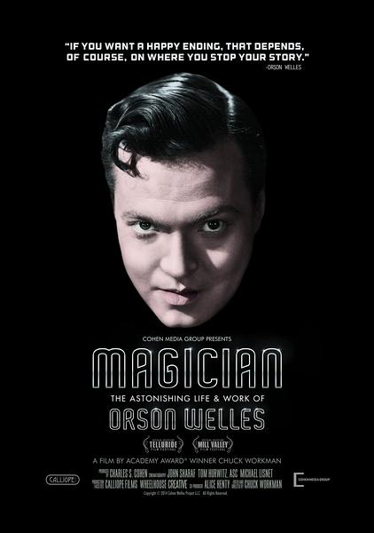 魔術師:奧遜·威爾斯驚人的生活與工作
