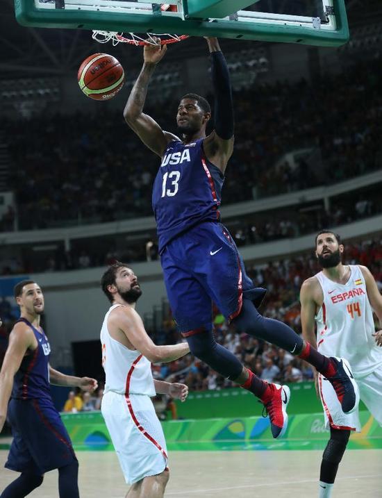 2016裏約奧運男籃決賽