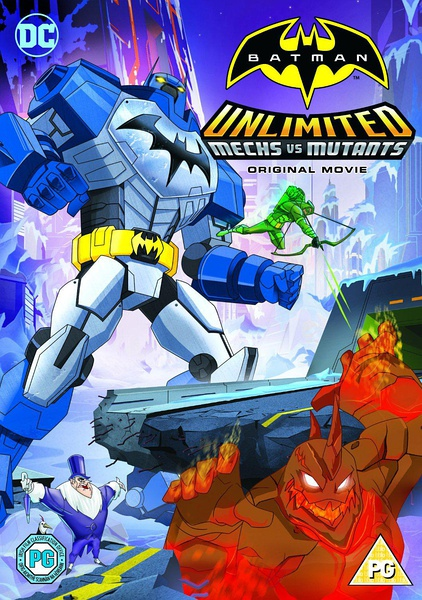 蝙蝠俠無極限:機甲大戰變種異煞
