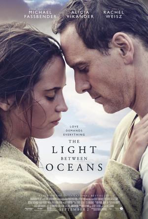 大洋之間的燈光